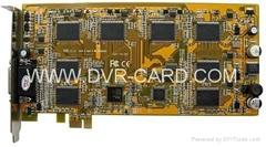 H.264 DVR CARD HS-7008