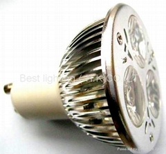 GU10,E27,MR16,E14 3W LED