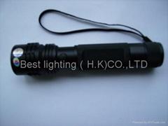 可充電大功率1W/3W LED電筒