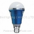 6W LED High Power Light Bulb