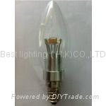 3 watt, LED Candle light bulb