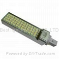 240V ac, G24 2pin or 4pin end cap, LED