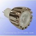 MR11, GU4, 1.1 watt, LED light bulb, 12Vac.dc, Cool Whit