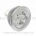 MR16, GU5.3, base cap, 4 watt, LED light