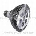 240V ac, PAR 30, 7 watt, Spot light bulb