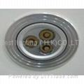 9 watt, With 3 LED's, LED light bulb, Round Ceiling Down light