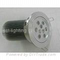 27 watt, With 9 LED's, LED light bulb, Round Ceiling Down light