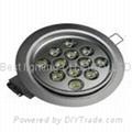36 watt, With 12 LED's, LED light bulb, Round Ceiling Down light