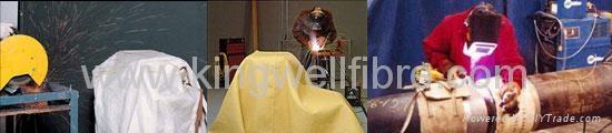 Welding blanket-fiberglass base 2