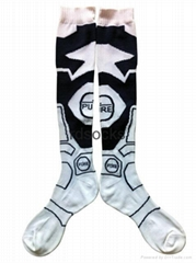 2014 fashion design Brazil Football socks,soccer socks