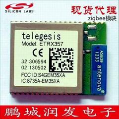 现货代理 美国Silicon Lab公司ZIGBEE模块Telegesis ETRX357 EM357