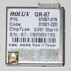 供應HOLUX GR-87 GPS模塊