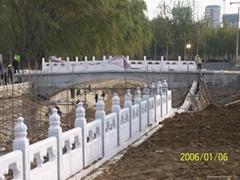 汉白玉栏杆栏板