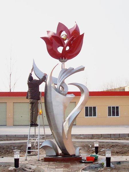 不鏽鋼雕塑 4