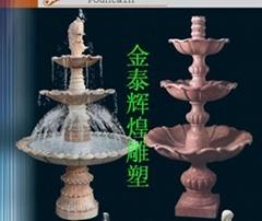 水缽噴泉雕塑噴泉