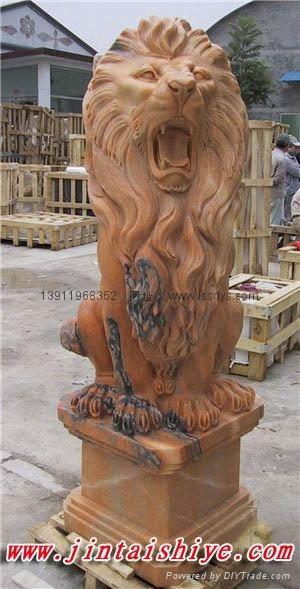 石獅子雕刻 1