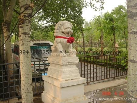 石獅子雕刻 5