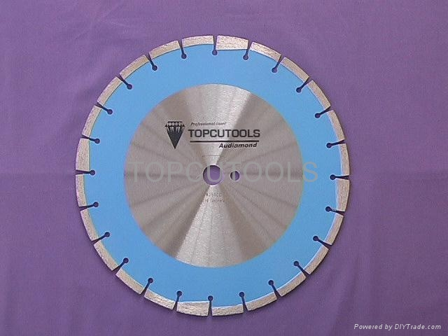 Laser Diamond saw blade for Cured Concrete Series  1