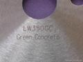 Laser Diamond saw blade for Green Concrete Series  2