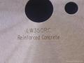 鋼觔混凝土專用激光片 2
