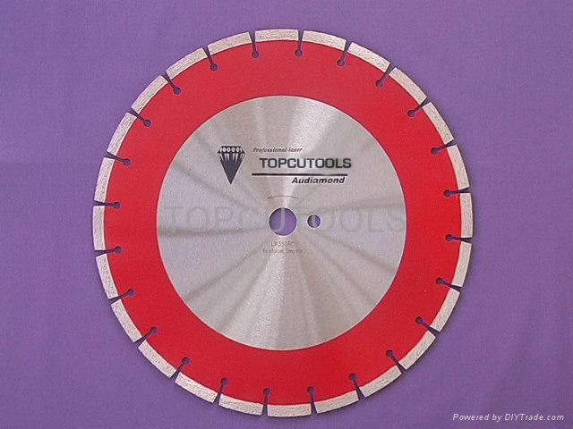 Laser Diamond saw blade for Reinforced Concrete Series  1
