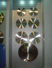 diamond laser welded saw blade