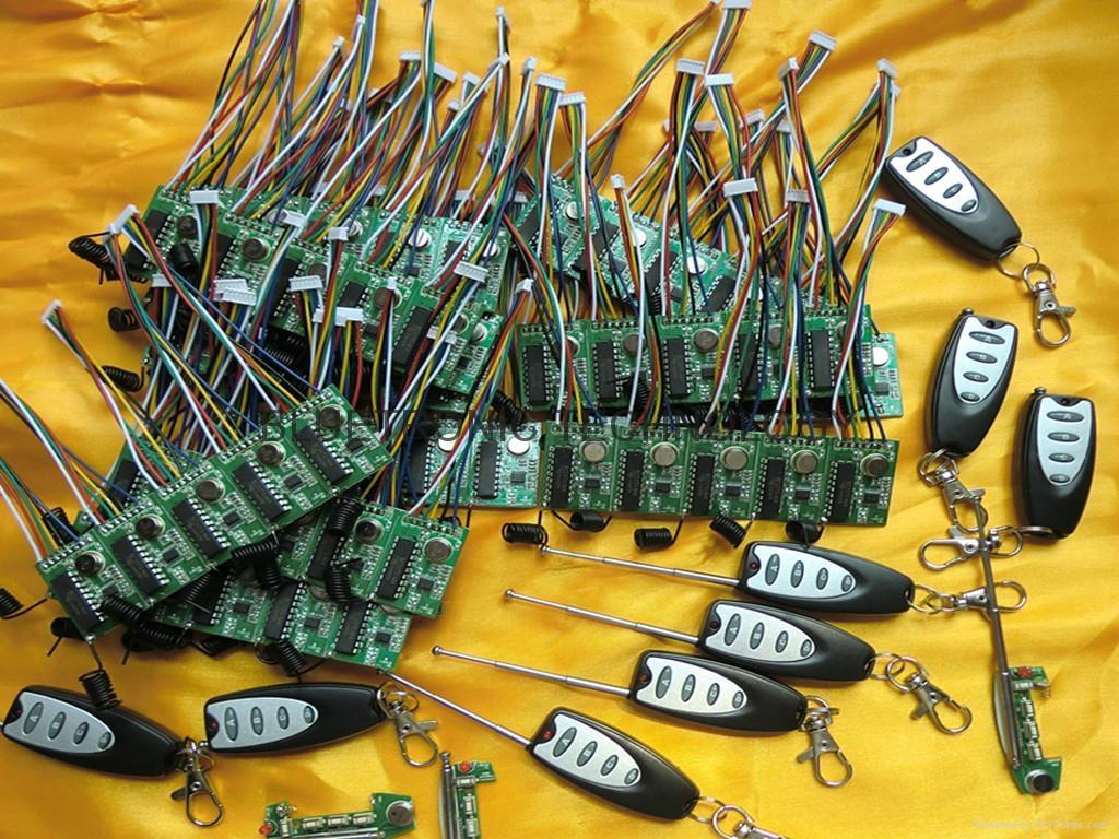 315 MHZ 无线电遥控发射器和接收器 1