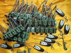 315 MHZ 无线电遥控发射器和接收器