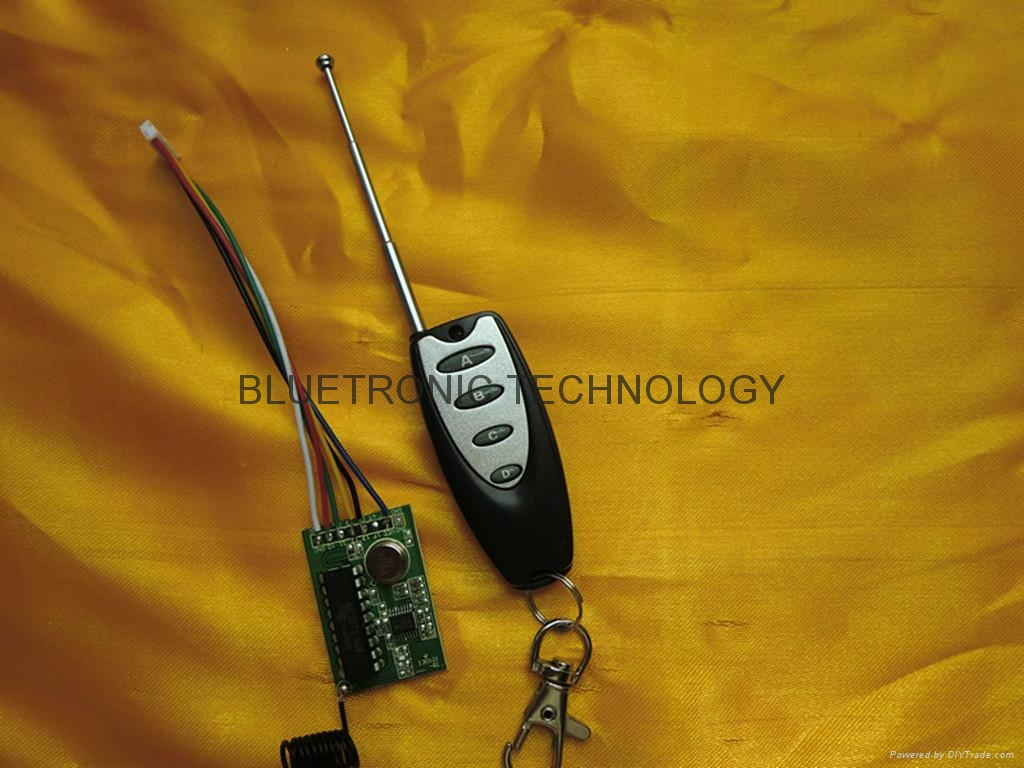 315 MHZ Wireless remote control transmitter and receiver 5