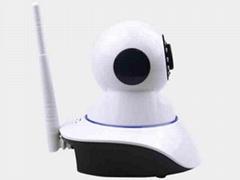 無線wifi網絡720P高清手機遠程監控智能移動偵測監控攝像頭