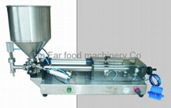 semi auto sauce filler (tabletop type)