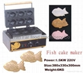 Japanese fish stuff cake maker