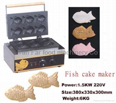 Japanese fish stuff cake maker