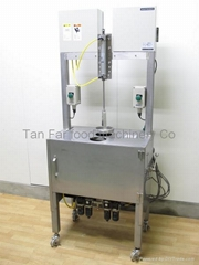 cabbage corn peeling machine used