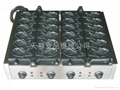 Japanese taiyaki maker  12 fish mould  with Europe CE cert