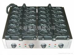 日式正宗鲷鱼烧机 12鱼型号 付欧洲安全认试CE 证书