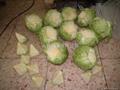 cabbage corn peeling machine used 2