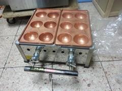 Japanese fish ball grill    taikoyaki maker