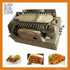 日本式自动回转式烧烤机  yakitori machine