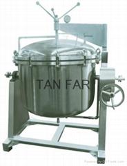 夾層壓力缸    煲豬骨湯 包領取壓力容器許可證