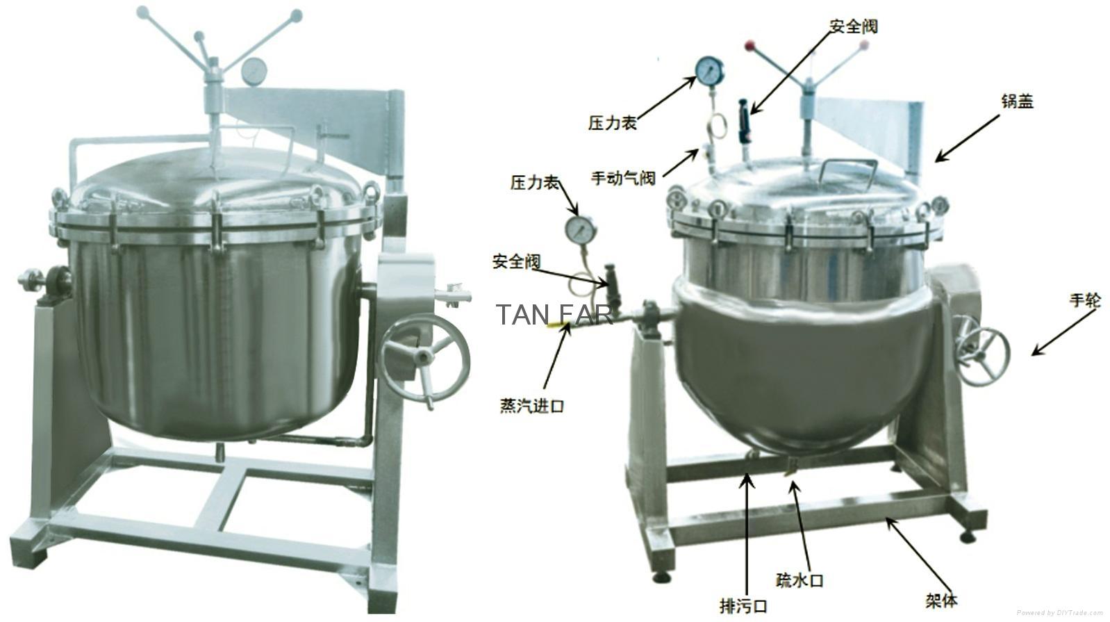 夾層壓力缸    煲豬骨湯 包領取壓力容器許可證 4