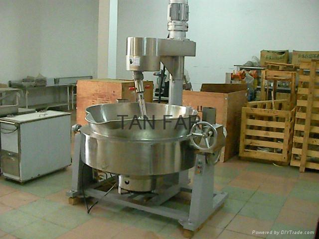 搅拌夹层煮锅 2