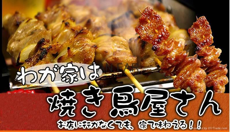 HIGO GRILL 日本炭火自动回转烧烤炉  二手 4