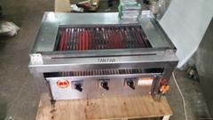 HIGO GRILL 日本炭火自動迴轉燒烤爐  二手