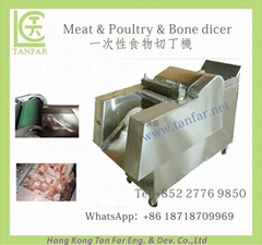 Meat & Poultry and  Bone Dicing Machine