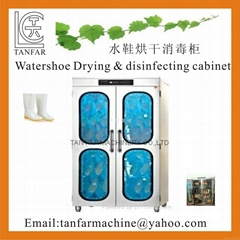 Ultraviolet  drying disinfection cabinet.