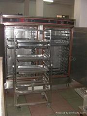 ELETRIC STEAMER  (double door/24 trays)
