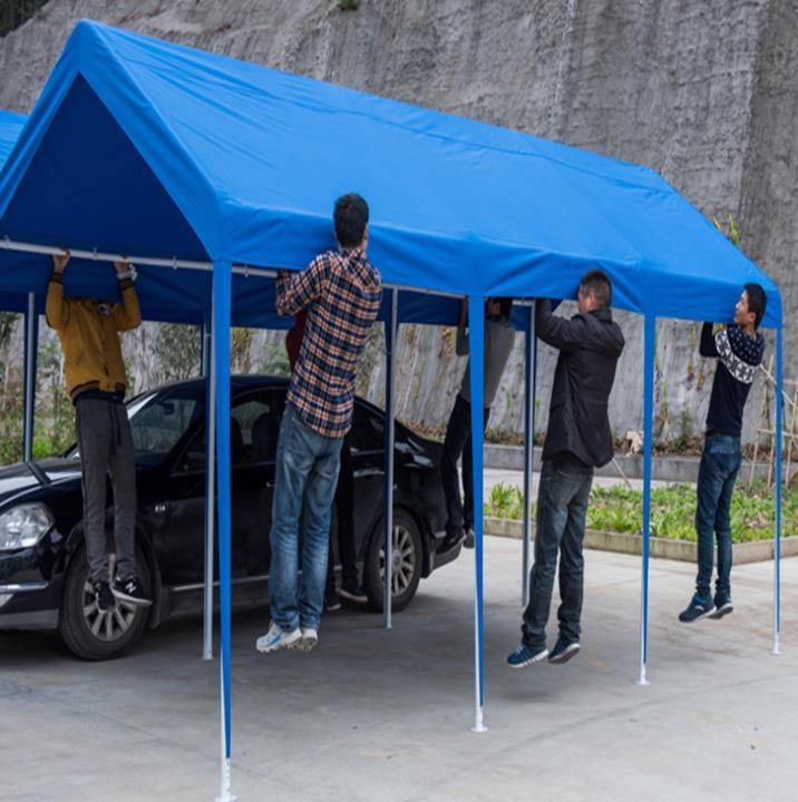 武漢新式廣告擺攤展示帳篷 2