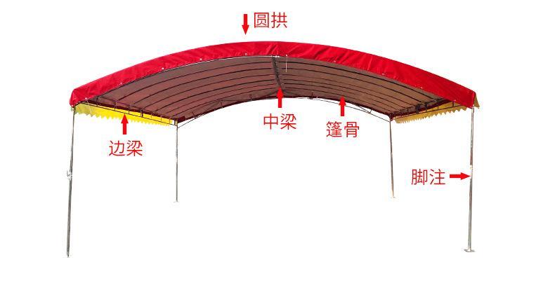 武漢新式廣告擺攤展示帳篷 4