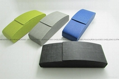 handmade PU leather eyeglasses glasses case (Hot Product - 1*)